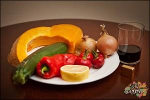 Krem warzywny z dodatkiem papryczek chili