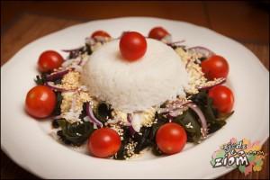 obfita w sezam saładka wakame - łatwy przepis inspirowany kuchnią japońską