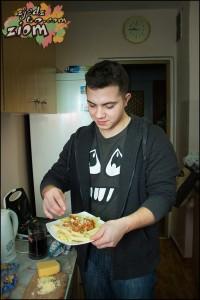 makaron z tuńczykiem- łatwy obiad, szybki przepis (7)