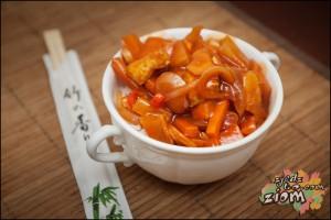 Słodko kwaśny tofu chińczyk