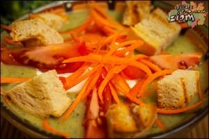 Zupa krem z brokułów | przepisy wegetariańskie (4)