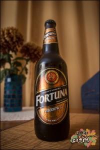 Dobre piwo miodowe Fortuna Miłosław ciemne!!