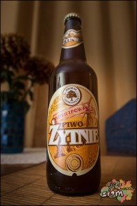 dobre piwo- Żytnie produkowane w browarze Konstancin