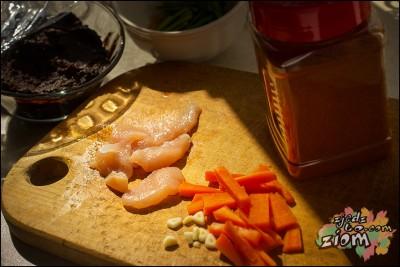 składniki na miso zupę z kurczakiem