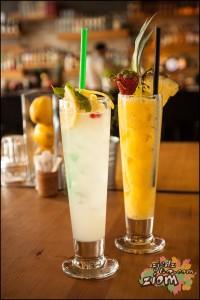 Lemoniada i koktajl imbirowy