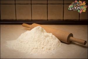 Mąka na ciasto do pierogów z kapustą i grzybami