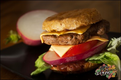 domowy hamburger: Hardcoreburger Tytana