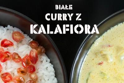 curry z kalafiora przepis ze zdjeciami