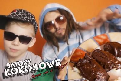 batony kokosowe, dla dzieci przepis video