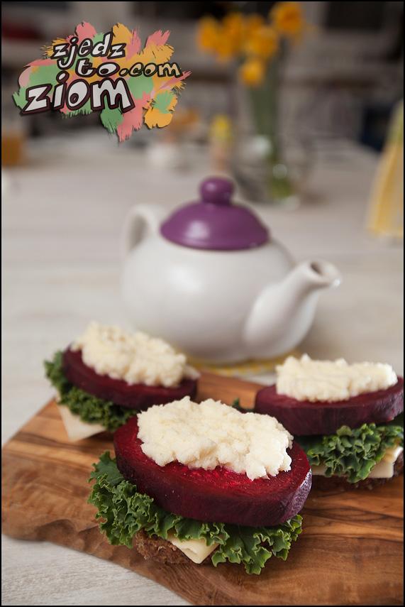 Żywność polskie składniki burak jarmuż chrzan